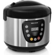 REDMOND RMC-M4515E Rice Cooker, Food Steamer, Slow Cooker, Egg Cooker, Deep Fryer, Egg Boiler(4 L, Black, Metallic)
