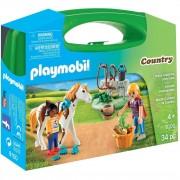 Playmobil country valigetta grande maneggio