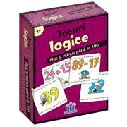 Jocuri logice - plus si minus pana la 100 - jetoane/Corina Beurenmeister