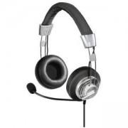 Слушалки с микрофон HAMA Style 139914, USB, Черен/Сив, HAMA-139914