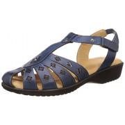 Dr. Scholls Women's Paris Closed Sandal Blue Fashion Sandals - 5 UK/India (38 EU) (6649935)