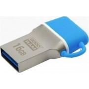 Stick USB GOODRAM ODD3, 16GB, USB 3.0 (Albastru/Argintiu)