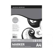 Bloc de desen Simply Marker A4, 40 foi