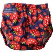 Scutec inot refolosibil marime ajustabila 3-30 luni AquaNappy strawberry