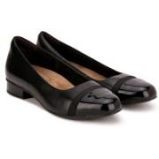 Clarks Keesha Rosa Black Leather Formal Shoe For Women(Black)