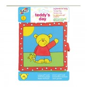 Large soft book: carticica moale teddys day