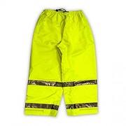 Vision 7 mm de poliuretano transpirable) Hi-Vis pantalones con cinta reflectante, P23122.XL, Amarillo/Verde Fluorescente (Fluorescent Yellow/Green)