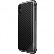 Husa Capac Spate Defense Lux Negru APPLE iPhone X, iPhone Xs X-DORIA