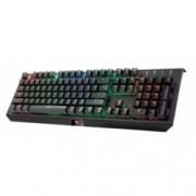 Клавиатура Trust GXT 890 Cada, гейминг, механична, подсветка, черна, USB