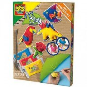 Детски комплект с пластелин, SES, 080692