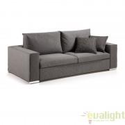 Canapea din tesatura de inalta calitate, saltea din spuma poliuretanica, BIG 160 T S216DS15 JG