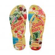 Havaianas slim summer slippers - citroengeel