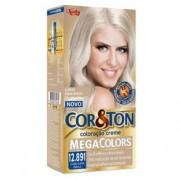 Tintura Creme Cor & Ton Megacolors Louro Super Pérola 12.891