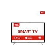 Smart TV LED 43'' Semp Toshiba TCL 43S4900 Full HD com Conversor Digital 3 HDMI 2 USB Wi-Fi 60Hz Preta