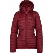 KILPI Dámská zimní bunda - větší velikosti GIRONA-W JLX043KIDRD Červená 52