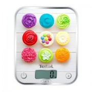 Кухненска везна, Tefal Optiss, 5kg, Tara, Digital LCD display, Delicious Cupcakes (BC5122V0)