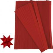 Merkloos Papieren stroken rood 500 stuks