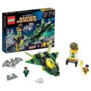 LEGO Super Heroes Green Lantern and Space Batman vs. Sinestro, Ultra-Fast Construct Spaceship, 174 Pieces