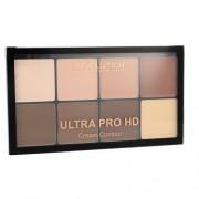 Makeup Revolution London Ultra Pro HD Cream Contour Palette пудра 20 гр за жени Light Medium