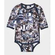 Molo Field Baby Body Animal Collage