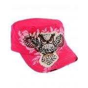 Shining Owl - Rosa Vintage Keps