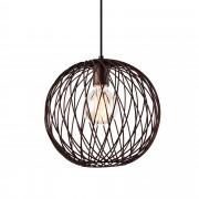 [lux.pro]® Dekoratívní designové závěsné svítidlo / stropní svítidlo - bronz (1 x E27) HT169908