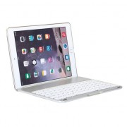 Witspad Bluetooth keyboard cover toetsenbord hoes case silver backlight iPad Air 2