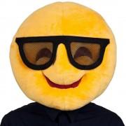 Cool Head Emoji Mask