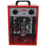 Aeroterma electrica ZOBO ZB-EF3, 3000W (Rosu)