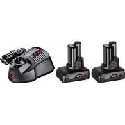 Akumulatorski set 12V punjač + 2 baterije Bosch GAL 1230 CV + 2 x GBA 12V 4,0Ah (1600Z00046)