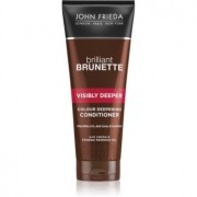 John Frieda Brilliant Brunette Visibly Deeper Balsam hidratant pentru par vopsit pentru părul închis la culoare 250 ml