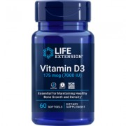 Vitamin D3, 175 mcg , 7000 IU, 60 softgels