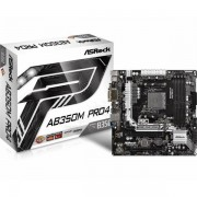 Asrock AMD AM4 Socket B350 Chipset MB ASR-AB350M PRO4