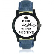 Power Of Positive Thinking Analogue Men's Watch By Taj Avenue