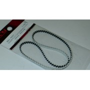 Radtech BEL-10005 Low Friction White belt 3mm x 351 -117T (XRay Mid) (BEL-0351)