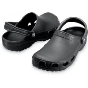 Crocs Men Black Clogs