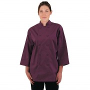 Chef Works unisex koksbuis bordeaux XS - XS