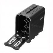 BB-6 6 stks AA Batterij Case Pack Batterij Houder Power als NP-F NP-970 Serie Batterij voor LED Video Light Panel/Monitor