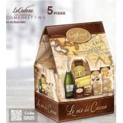 Cod de Craciun Le vie Del Cacao 5 piese made in Italy