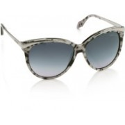Roberto Cavalli Over-sized Sunglasses(Blue, Violet)