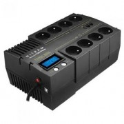NITRAM Onduleur POWER BOXX 700VA LCD Line Interactive + Logiciel
