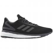 adidas Women's Response Light Running Shoes - Black/Grey - US 9/UK 7.5 - Black/Grey