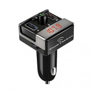 ELECTROPRIME® A7 Universal Bluetooth Car Kit FM Transmitter MP3 Player Dual USB & TF LCD