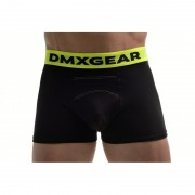 DMXGEAR Anatomic Fit Luxury Cotton Boxer Brief Underwear Black DMX18AF02