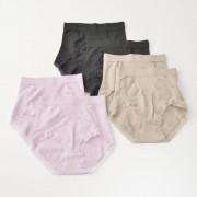 ThreeHeart綿モダール混立体成型ショーツ6枚セット【QVC】40代・50代レディースファッション