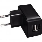 Incarcator USB universal, 2.1A, negru, HAMA