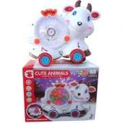 OH BABY BABY 3D LIGHT MUSICAL POWER WITH AUTOMATIC SENSOR WHITE COLOR CUTE ANIMLAS COW FOR YOUR KIDS SE-ET-17