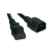 Tripp Lite 8ft Computer Power Cord Extension Cable C14 to C13 10A 18AWG 8' - rallonge de câble d'alimentation - 2.4 m