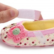 Lindo souvenir Baby Shoes suave caliente niñas Primer niño Walker