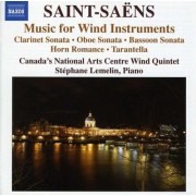 C. Saint-Saens - Music For Wind Instrument (0747313096473) (1 CD)